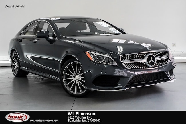 Certified Used 2016 Mercedes-Benz CLS CLS 400 4dr Sdn  RWD Coupe in Santa Monica