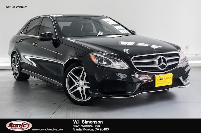 Certified Used 2016 Mercedes-Benz E-Class E 350 Sport 4dr Sdn  RWD Sedan in Santa Monica