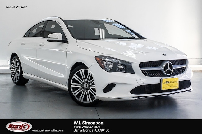 Used 2018 Mercedes-Benz CLA 250 CLA 250  Coupe Coupe for sale in Santa Monica, CA