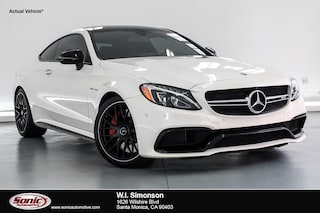 Used 2017 Mercedes-Benz AMG C 63 AMG C 63 S  Coupe Coupe near San Diego