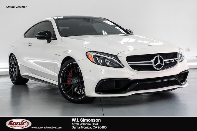 Used 2017 Mercedes-Benz AMG C 63 AMG C 63 S  Coupe Coupe for sale in Santa Monica, CA