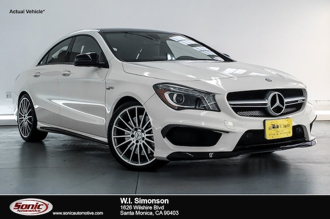 Certified Used 2016 Mercedes-Benz AMG CLA 45 AMG CLA 45 4dr Sdn  4matic Coupe in Santa Monica