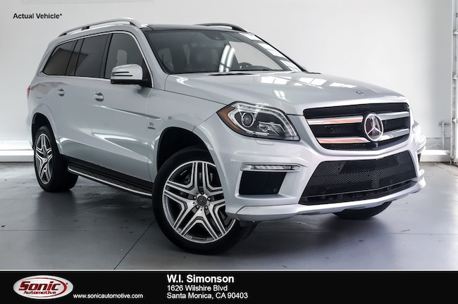 Certified Used 2016 Mercedes-Benz AMG GL AMG GL 63 4matic 4dr SUV in Belmont