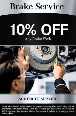 Brake Service 10% OFF