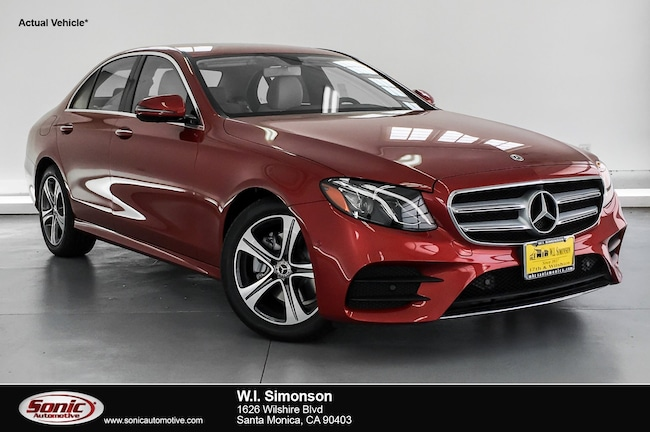 New 2019 Mercedes-Benz E-Class E 300 Sedan for sale in Santa Monica, CA