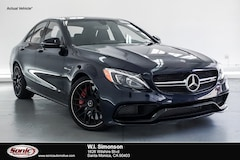 New 2018 Mercedes-Benz AMG C 63 S Sedan for sale in Santa Monica