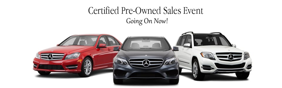 Cpo sales event in santa monica certified used mercedes for Mercedes benz certified pre owned sales event