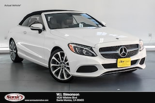 Certified Pre-Owned 2018 Mercedes-Benz C-Class C 300  Cabriolet Cabriolet for sale in Santa Monica, CA