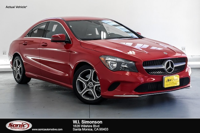 Used 2019 Mercedes-Benz CLA 250 CLA 250  Coupe Coupe for sale in Santa Monica, CA