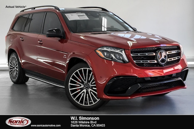 new 2018 mercedes-benz amg gls 63 4matic for sale in los angeles ca