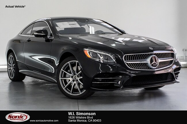 New 2019 Mercedes-Benz S-Class S 560 4MATIC Coupe for sale in Santa Monica, CA
