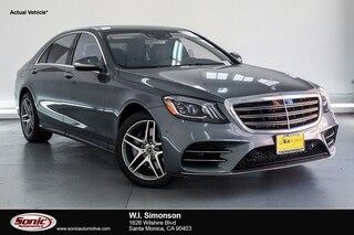 New 2018 Mercedes-Benz S-Class S 560 Sedan for sale in Santa Monica, CA