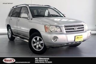 Used 2003 Toyota Highlander 4dr 4-Cyl Natl SUV for sale in Santa Monica