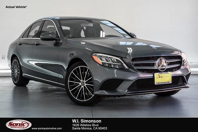 New 2019 Mercedes-Benz C-Class C 300 Sedan for sale in Santa Monica, CA