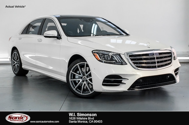 New 2019 Mercedes-Benz S-Class S 450 Sedan for sale in Santa Monica, CA