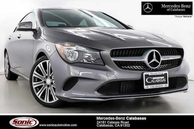 Certified Used 2018 Mercedes-Benz CLA 250 CLA 250  Coupe Coupe in Santa Monica
