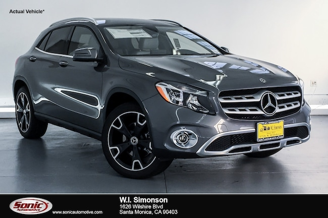 New 2019 Mercedes-Benz GLA 250 SUV for sale in Santa Monica, CA