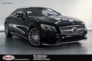 Certified Pre-Owned 2016 Mercedes-Benz S-Class S 550 2dr Cpe  4matic Coupe for sale in Santa Monica, CA
