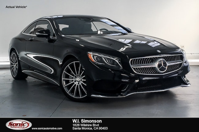 2016 Mercedes-Benz S-Class S 550 2dr Cpe  4matic Coupe