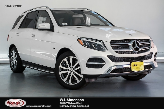 New 2018 Mercedes-Benz GLE 550e Plug-In Hybrid 4MATIC SUV for sale in Santa Monica, CA