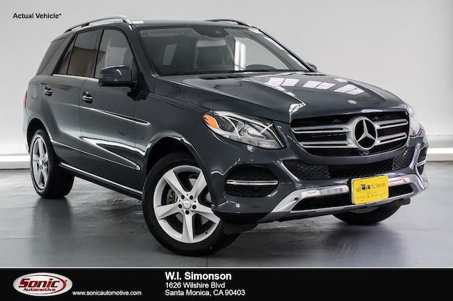 Certified Used 2016 Mercedes-Benz GLE GLE 350 4matic 4dr SUV in Santa Monica
