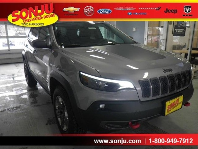 New 2019 Jeep Cherokee TRAILHAWK 4X4 Sport Utility For Sale/Lease Two Harbor, MN