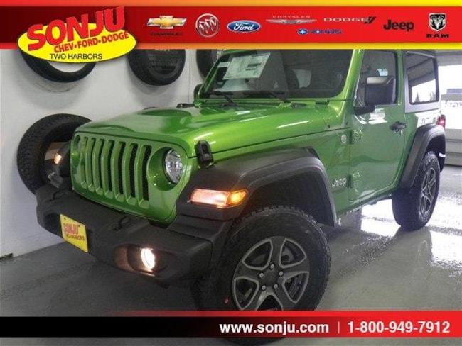 New 2019 Jeep Wrangler SPORT S 4X4 Sport Utility For Sale/Lease Two Harbor, MN