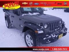 2019 Jeep Wrangler UNLIMITED SPORT S 4X4 Sport Utility 1C4HJXDN3KW546760