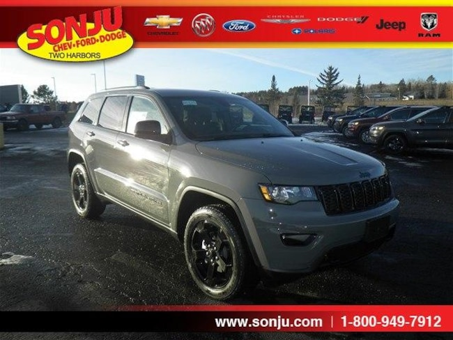 New 2019 Jeep Grand Cherokee UPLAND 4X4 Sport Utility For Sale/Lease Two Harbor, MN