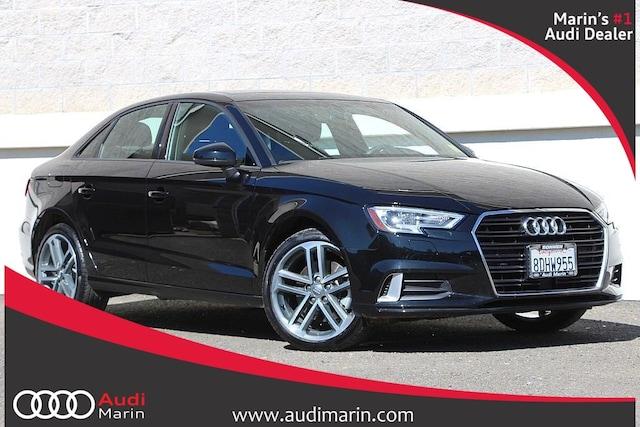 Certified 2018 Audi A3 2.0T Sedan for sale in San Rafael, CA at Audi Marin