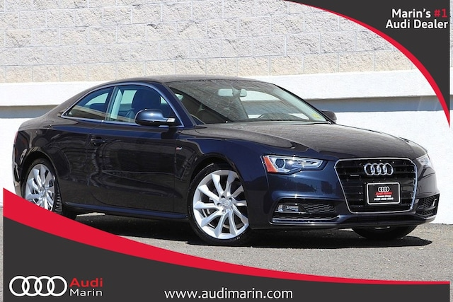 Certified 2016 Audi A5 2.0T Premium Plus Coupe for sale in San Rafael, CA at Audi Marin
