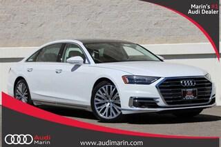 New 2019 Audi A8 L 3.0T Sedan for sale in San Rafael, CA at Audi Marin