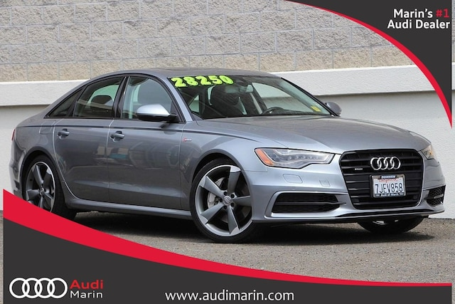 Used 2015 Audi A6 3.0T Prestige Sedan for sale in San Rafael, CA at Audi Marin