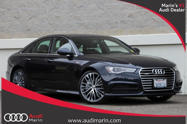 Used 2017 Audi A6 3.0T Sedan for sale in San Rafael, CA at Audi Marin