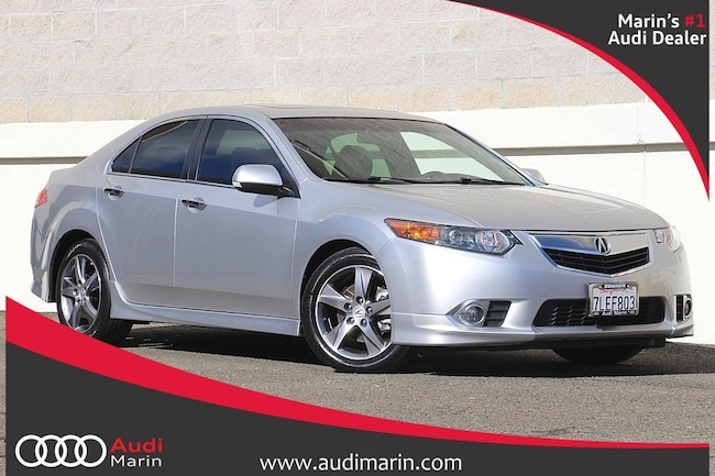 Used 2012 Acura TSX Special Edition 5-Speed Automatic Sedan for sale in San Rafael, CA at Audi Marin