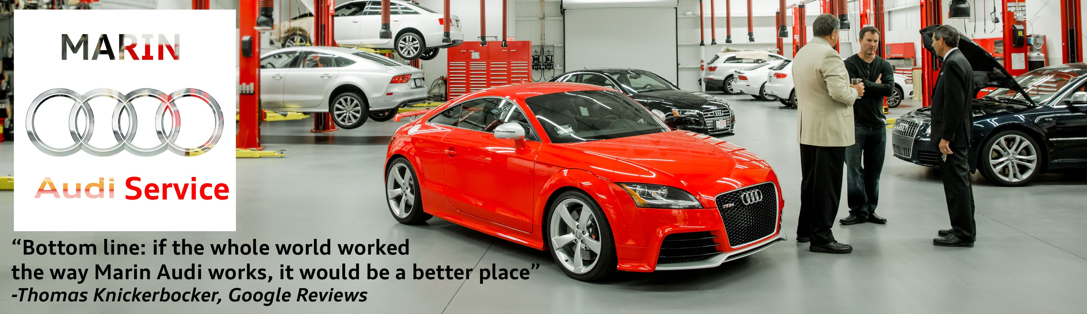 Audi Car Repair Auto Service In San Rafael Serving The San - Audi san francisco service