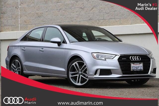 Certified 2018 Audi A3 2.0T Premium Sedan for sale in San Rafael, CA at Audi Marin