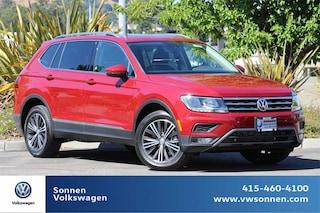 New 2019 Volkswagen Tiguan SEL 4motion SUV 3VV2B7AX3KM120710 for sale in San Rafael, CA at Sonnen Volkswagen