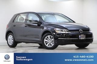 New 2019 Volkswagen Golf S Hatchback 3VWG57AU0KM022362 for sale in San Rafael, CA at Sonnen Volkswagen
