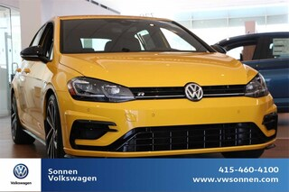 New 2019 Volkswagen Golf R DCC & Navigation 4motion Hatchback WVWWA7AU9KW112376 for sale in San Rafael, CA at Sonnen Volkswagen