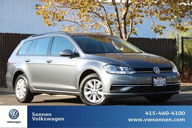 2018 Volkswagen Golf SportWagen S Wagon