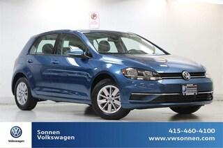 New 2019 Volkswagen Golf S Hatchback 3VWG57AU7KM029177 for sale in San Rafael, CA at Sonnen Volkswagen