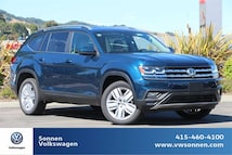 New 2019 Volkswagen Atlas SE w/Technology and 4motion SUV For Sale in San Rafael CA