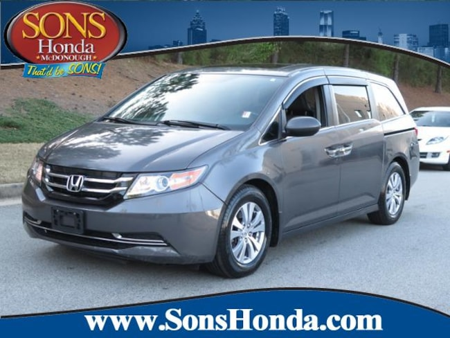 2016 Honda Odyssey EX-L w/Navi Van Passenger Van