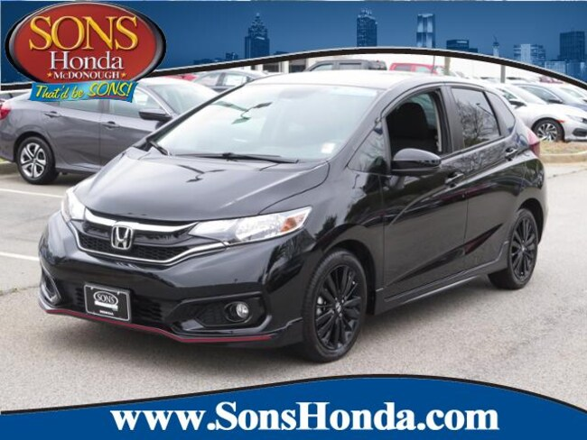 2018 Honda Fit Sport CVT Hatchback