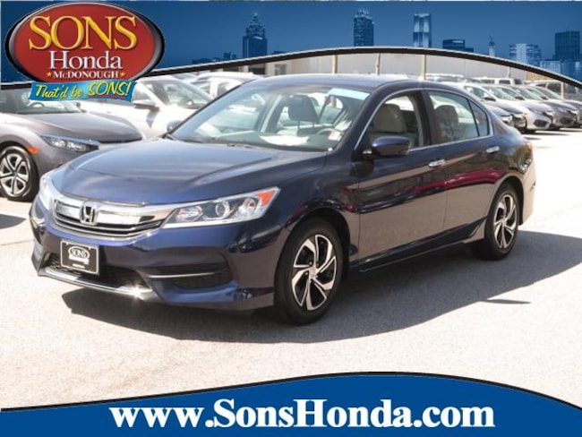 2016 Honda Accord I4 CVT LX Sedan