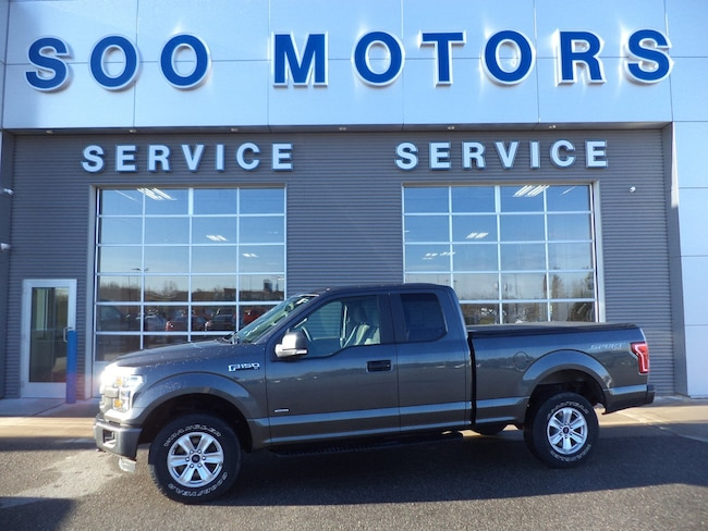 2015 Ford F-150 XL SC Sport 4x4 4WD SuperCab 145 XL