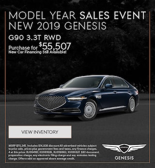 Model Year Sales Event - New 2019 G90 3.3T RWD