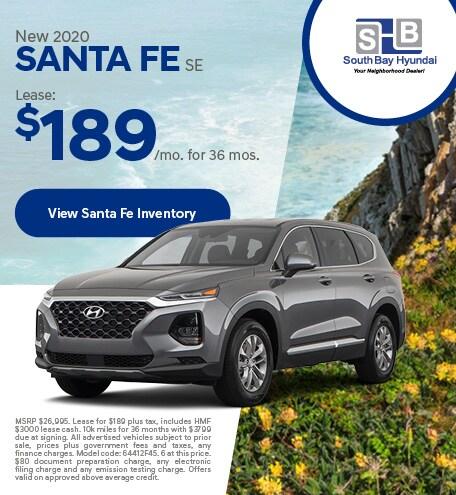 LATE JANUARY - 2020 Santa Fe SE