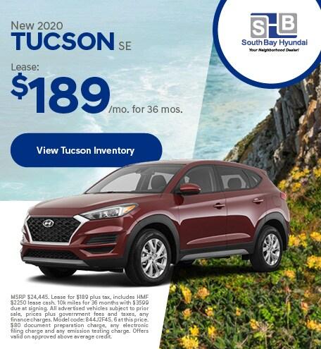 LATE JANUARY - 2020 Tucson SE